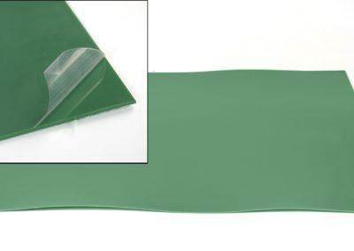 Piastra in PE + pellicola speciale termo-sensibile