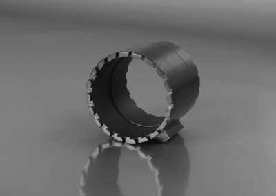 Bussola dentata con scalino in PET