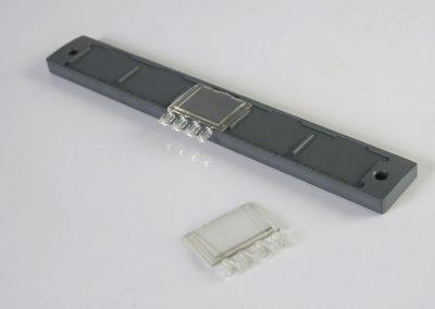 Listello pulsantiera in PVC