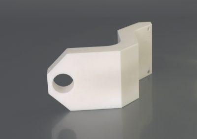 Snodo ricavato da lastra in PTFE sp.100